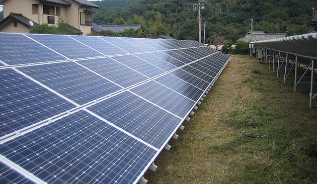 福岡県築上郡 102.06kWソーラー発電所|導入事例|太陽光発電システム ...