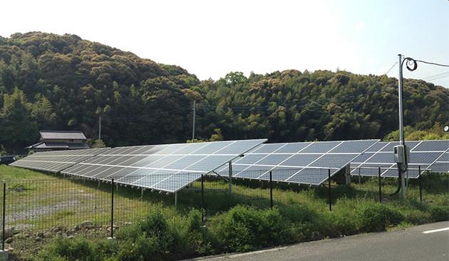 福岡県築上郡 102.06kWソーラー発電所の導入事例
